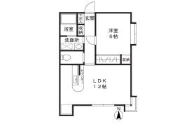 1LDK Apartment in Taira - Kawasaki-shi Miyamae-ku