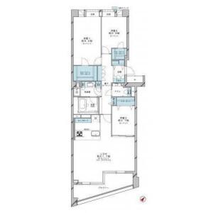 3LDK {building type} in Yoyogi - Shibuya-ku Floorplan