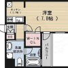 1K Apartment to Buy in Kyoto-shi Shimogyo-ku Floorplan
