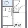 1K Apartment to Rent in Toyohashi-shi Floorplan