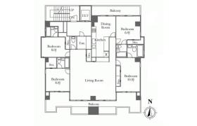 4LDK Apartment in Yamashitacho - Yokohama-shi Naka-ku