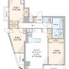 3LDK Apartment to Buy in Bunkyo-ku Floorplan