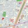 1K Apartment to Rent in Shinjuku-ku Access Map