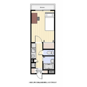1K Mansion in Kandanishikicho - Chiyoda-ku Floorplan