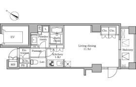 1R Mansion in Tsukishima - Chuo-ku