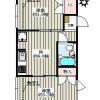 2DK Apartment to Rent in Bunkyo-ku Floorplan