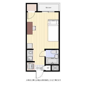 1R Mansion in Asagayakita - Suginami-ku Floorplan