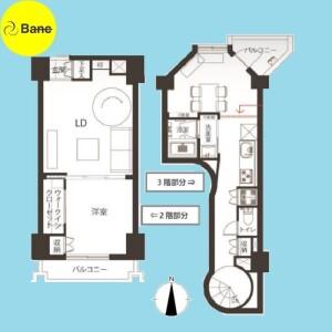 2LDK {building type} in Sekimachikita - Nerima-ku Floorplan