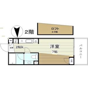 1R Mansion in Tomihisacho - Shinjuku-ku Floorplan