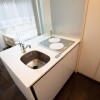 1R Apartment to Rent in Koto-ku Kitchen