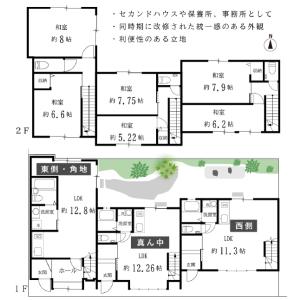 2LDK {building type} in Nishikujo karahashicho - Kyoto-shi Minami-ku Floorplan