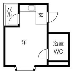 1R Mansion in Nishinakajima - Osaka-shi Yodogawa-ku Floorplan
