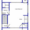 2LDK House to Rent in Itabashi-ku Floorplan