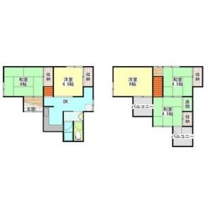 4LDK House in Eganosho - Habikino-shi Floorplan
