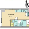1R Apartment to Buy in Shinagawa-ku Floorplan