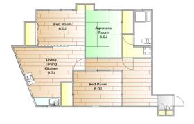3LDK Apartment in Yoga - Setagaya-ku
