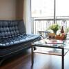 在涩谷区内租赁1DK 公寓大厦 的 起居室
