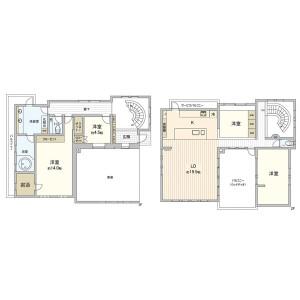 5LDK {building type} in Ookayama - Meguro-ku Floorplan