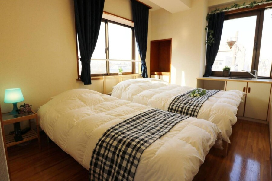 3LDK Apartment to Rent in Nakano-ku Bedroom