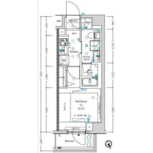 1K Mansion in Higashigotanda - Shinagawa-ku Floorplan