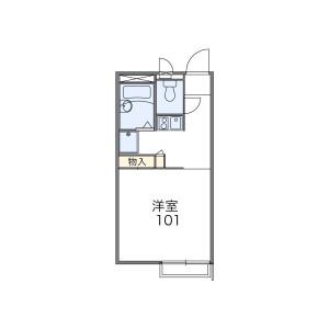 1K Mansion in Minamicho - Sakado-shi Floorplan