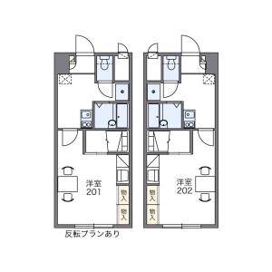 1K Mansion in Kawabatamachi - Kumamoto-shi Chuo-ku Floorplan