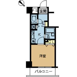 1K Mansion in Kamisaginomiya - Nakano-ku Floorplan