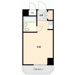 1R {building type} in Sannoshita - Tama-shi Floorplan