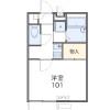 1K Apartment to Rent in Yokohama-shi Sakae-ku Floorplan