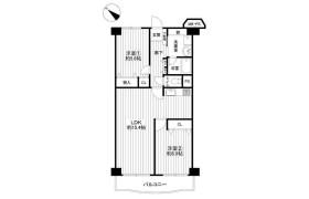 2LDK Apartment in Ogi - Kobe-shi Higashinada-ku