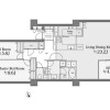 2SLDK Apartment to Buy in Shibuya-ku Floorplan