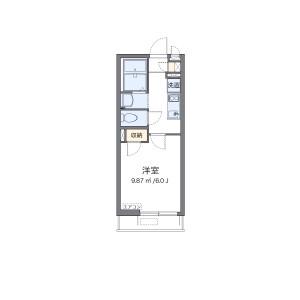 1K Apartment in Asahicho - Nerima-ku Floorplan