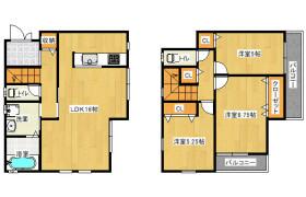 3LDK House in Amagawashimmachi - Takatsuki-shi