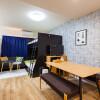 1R Serviced Apartment to Rent in Fukuoka-shi Hakata-ku Bedroom