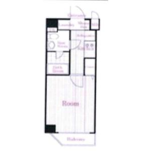 1K Mansion in Fujimidai - Nerima-ku Floorplan
