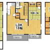 6SLDK Apartment to Rent in Matsubara-shi Floorplan