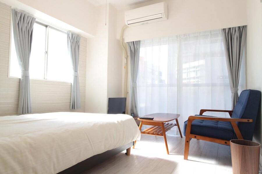 在Suginami-ku内租赁1K 简易式公寓 的 卧室