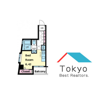 1R Mansion in Bentencho - Shinjuku-ku Floorplan