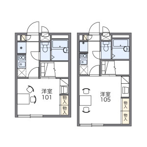1K Apartment in Naritahigashi - Suginami-ku Floorplan