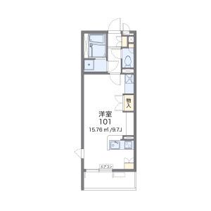 1R Mansion in Motonakayama - Funabashi-shi Floorplan