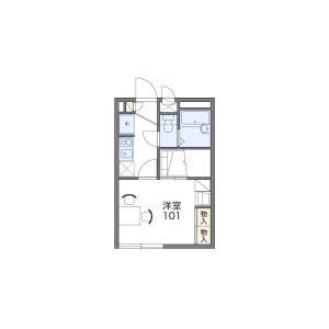 1K Apartment in Otorimachi - Nagasaki-shi Floorplan