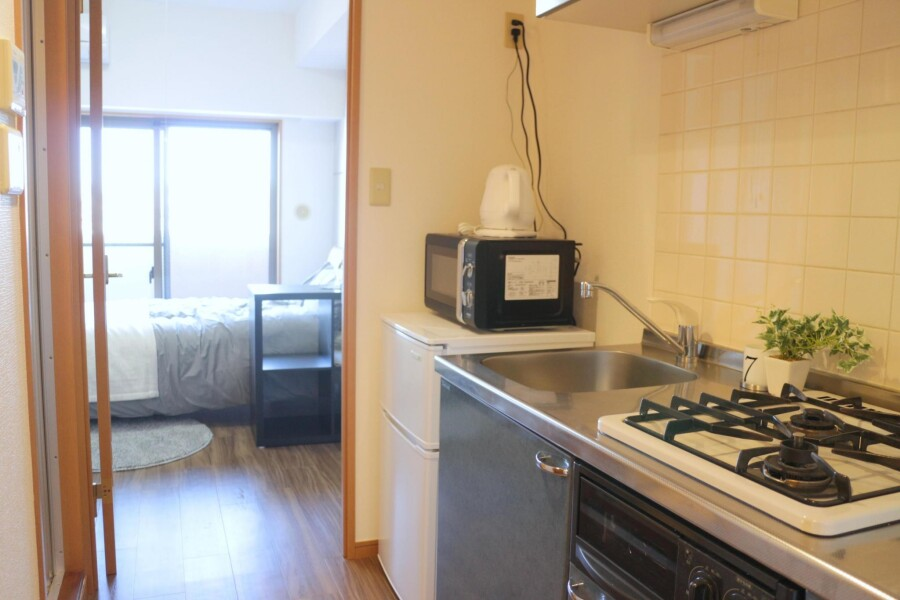 1K Apartment to Rent in Toshima-ku Kitchen