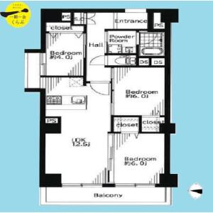 3LDK {building type} in Kitamachi - Nerima-ku Floorplan