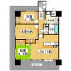3LDK Apartment to Rent in Sakai-shi Sakai-ku Floorplan