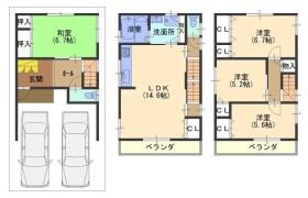4LDK {building type} in Tsumori - Osaka-shi Nishinari-ku