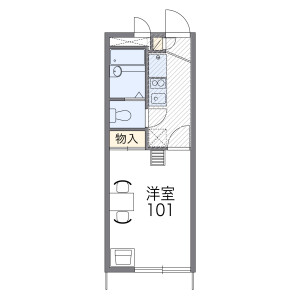 1K Apartment in Unane - Kawasaki-shi Takatsu-ku Floorplan