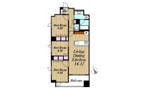 3LDK Apartment in Hatchobori - Chuo-ku