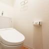 1K Serviced Apartment to Rent in Osaka-shi Naniwa-ku Toilet