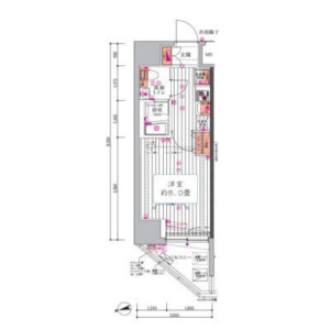 1K {building type} in Koenjiminami - Suginami-ku Floorplan