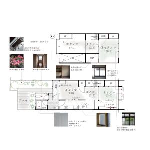 6K House in Toriimaecho - Kyoto-shi Kamigyo-ku Floorplan